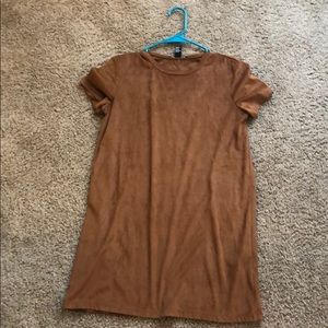 Suede FOREVER 21 Mini Dress